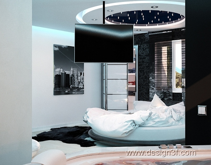 Modern style bedroom by студия Design3F Modern