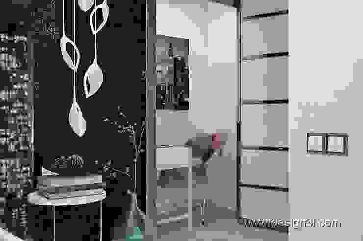 Спальня в стиле хай-тек, Спальня в стиле модерн от студия Design3F Модерн