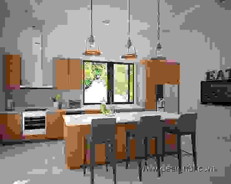 Кухня в современном стиле, г. Берлин Кухня в стиле модерн от студия Design3F Модерн