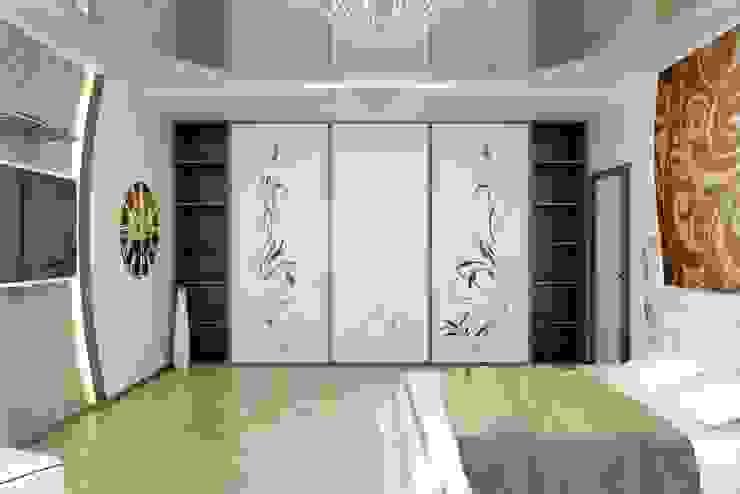 Спальня в современном стиле Спальня в стиле модерн от Цунёв_Дизайн. Студия интерьерных решений. Модерн