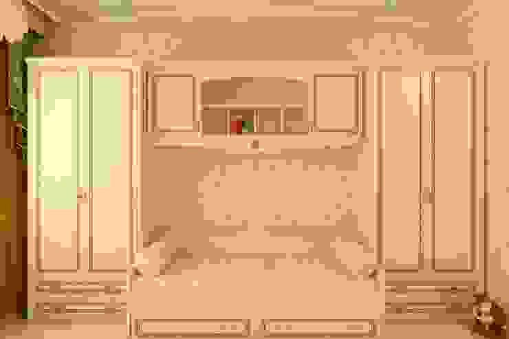 Детская в частном доме Цунёв_Дизайн. Студия интерьерных решений. Спальня в эклектичном стиле