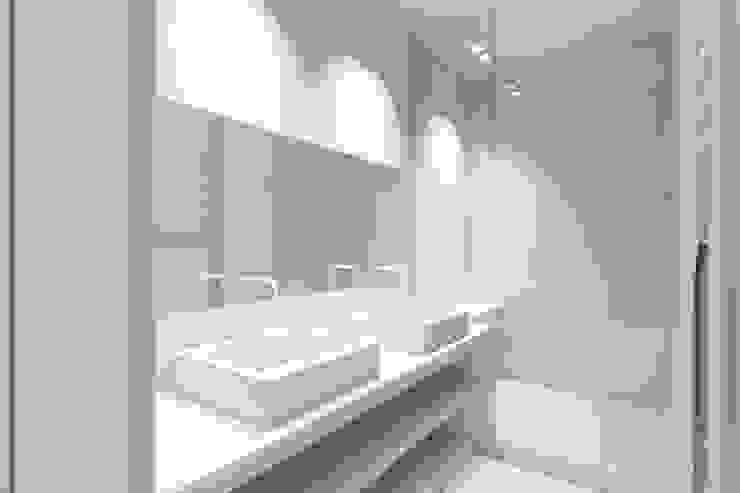 Nowoczesna łazienka od Lionel Parquet Nowoczesny