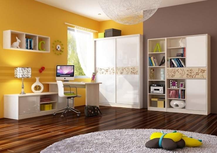 Dormitorios infantiles de estilo moderno de Möbelgeschäft MEBLIK Moderno