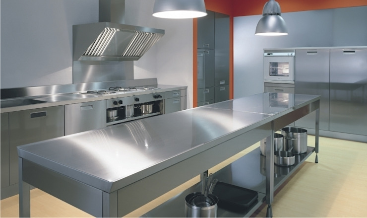 Industrial style kitchen by bettini design Industrial