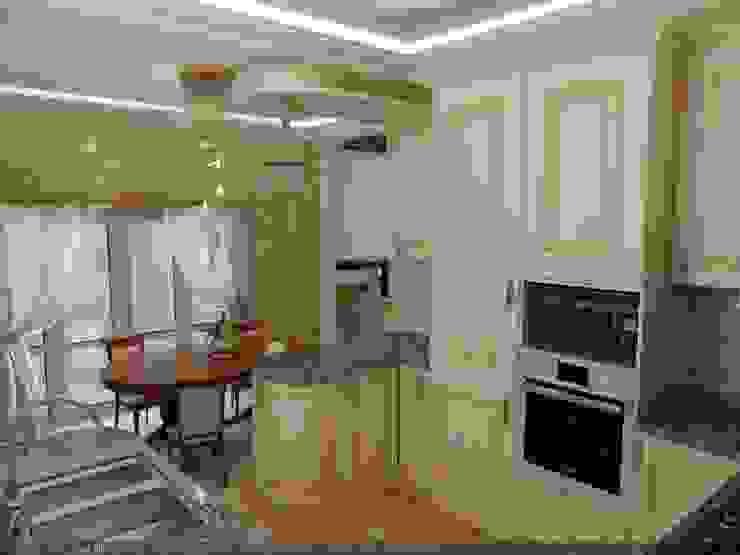 Частный дом г. Невинномысск. Кухня Цунёв_Дизайн. Студия интерьерных решений. Кухня в классическом стиле