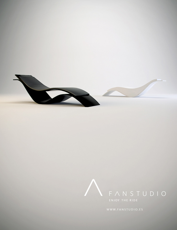 TUMBONAS_CHAISE LOUNGE de FANSTUDIO__Architecture & Design Moderno