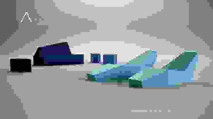 por FANSTUDIO__Architecture & Design Moderno