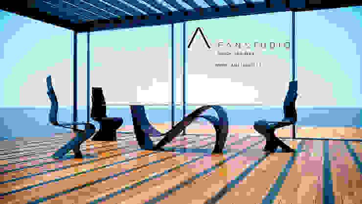 COMEDOR de FANSTUDIO__Architecture & Design Moderno