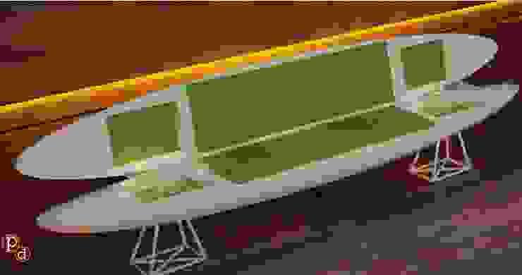 Kayak sofa: modern  by Preetham  Interior Designer,Modern