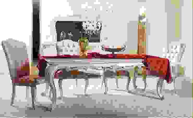 BEYZA YEMEK ODASI TAKIMI Klasik Yemek Odası Asortie Mobilya Dekorasyon Aş. Klasik