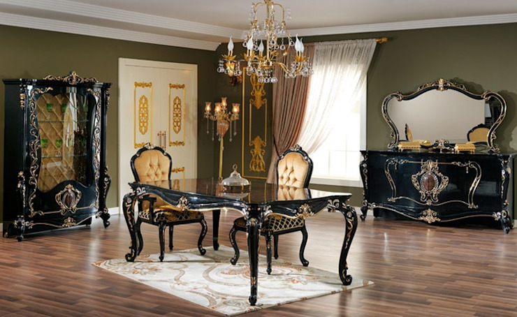 Classic style dining room by Asortie Mobilya Dekorasyon Aş. Classic