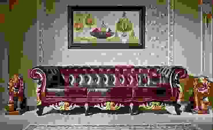 APOLYON DERİ KOLTUK TAKIMI Klasik Oturma Odası Asortie Mobilya Dekorasyon Aş. Klasik