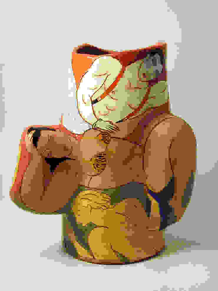 Cirque Imaginaire.: modern  by Michael Kay; Ceramic Artist, Modern