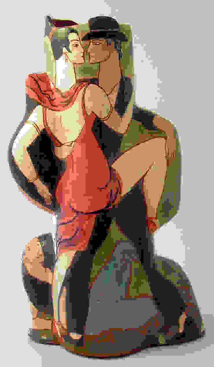 Tango Argentina.: modern  by Michael Kay; Ceramic Artist, Modern