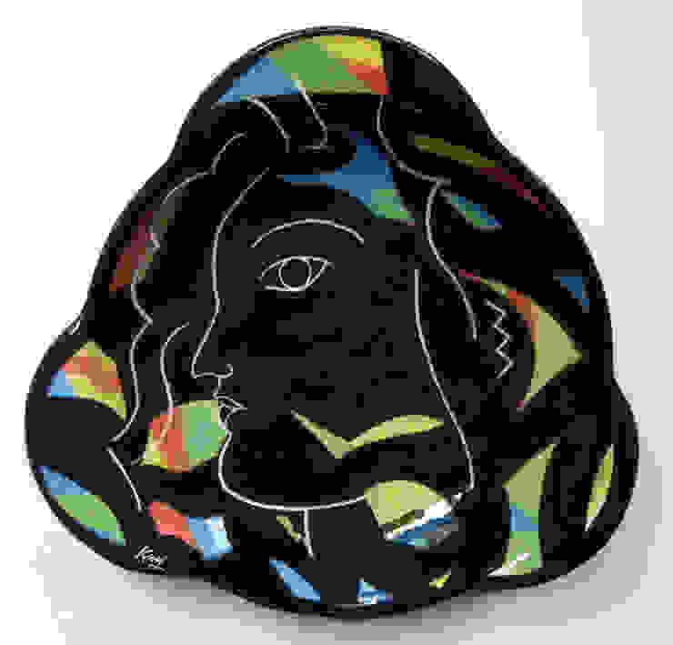 Face Plate: modern  by Michael Kay; Ceramic Artist, Modern