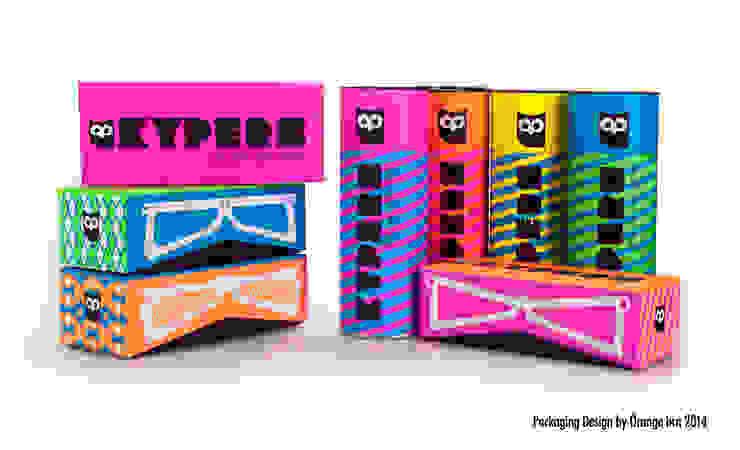 Detalle de la colección entera de packagings. de Orange BCN Moderno