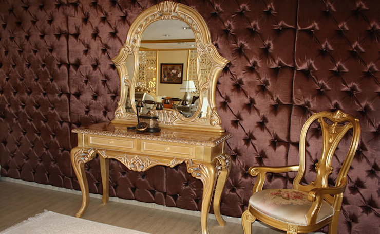 Asortie Mobilya Dekorasyon Aş. クラシカルスタイルの 玄関&廊下&階段