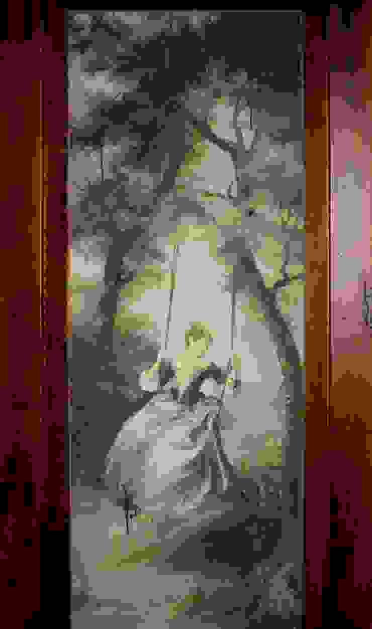 роспись комода Рабочий кабинет в классическом стиле от Абрикос Классический