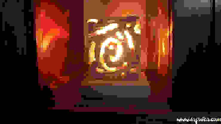 Lampada Cubetto di Laputea Rustico