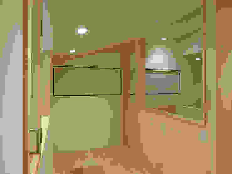 書斎と階段室 ミニマルデザインの 書斎 の 田所裕樹建築設計事務所 ミニマル