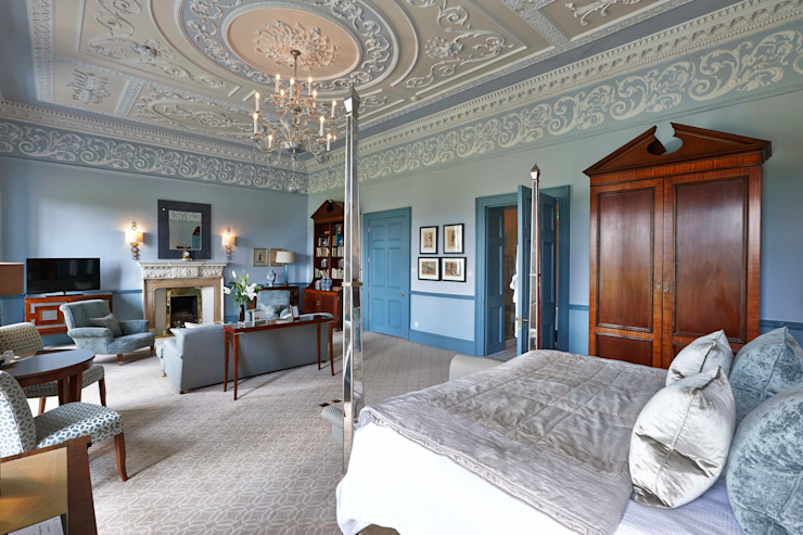 Royal Crescent Hotel, Bath, Wiltshire, England, UK 클래식 스타일 호텔 by Adam Coupe Photography Limited 클래식