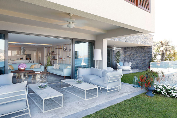 Modern Terrace by Escapefromsofa Modern