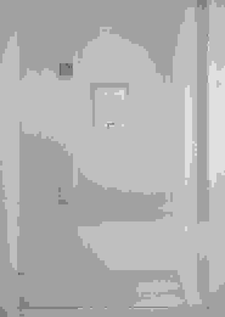 浴室 ミニマルスタイルの お風呂・バスルーム の 田所裕樹建築設計事務所 ミニマル