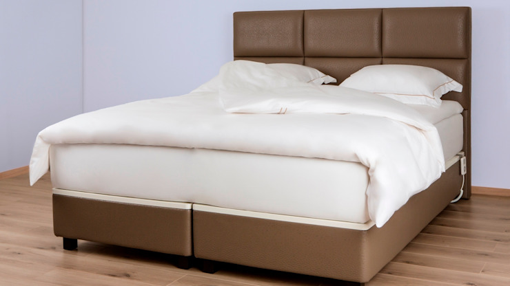 FreshBed Hybrid - the looks of a boxspring with the advantages of FreshBed de FreshBed Escandinavo