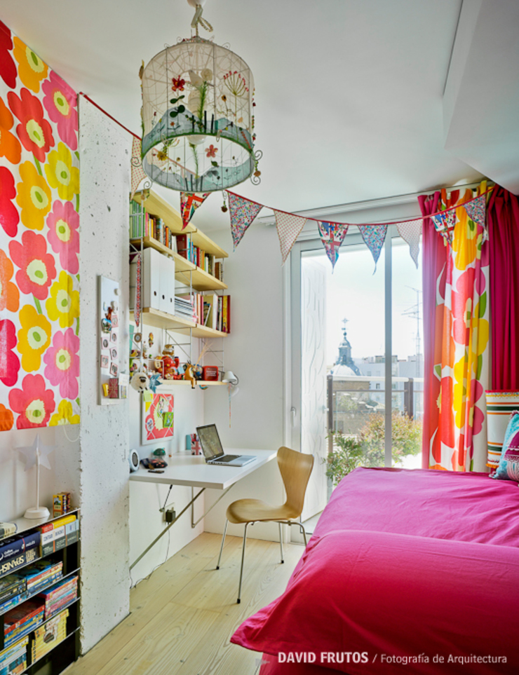 Manuel Ocaña Architecture and Thought Production Office Eclectic style bedroom
