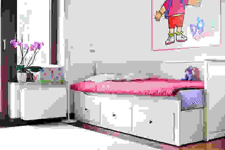 Pokój Mai. Skandynawski pokój dziecięcy od Miśkiewicz Design For Kids Skandynawski