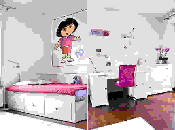 Pokój Mai.: styl , w kategorii Pokój dziecięcy zaprojektowany przez Miśkiewicz Design For Kids,Skandynawski