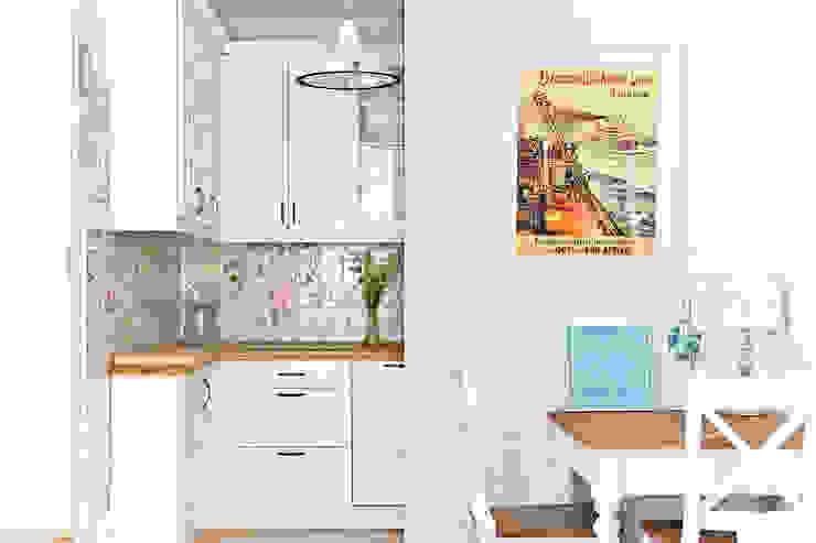 Кухня в средиземноморском стиле от Miśkiewicz Design Средиземноморский