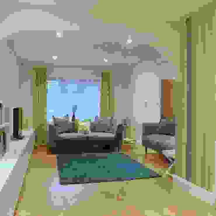 Final installed design Whitehouse Interiors Livings de estilo moderno