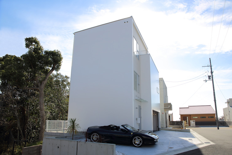 Maisons modernes par 一級建築士事務所・スタジオインデックス Moderne