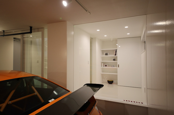 Modern garage/shed by 一級建築士事務所・スタジオインデックス Modern