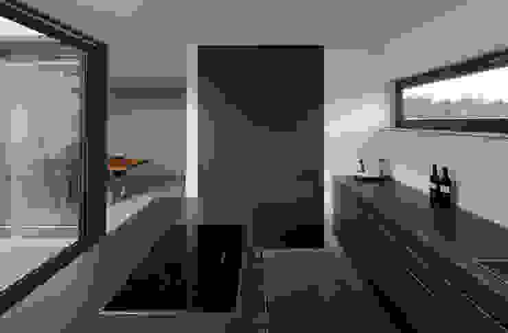 Mehrfamilienhaus_H Moderne Küchen von Fachwerk4 | Architekten BDA Modern