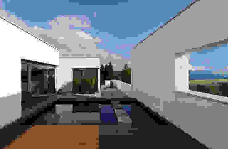Moderne balkons, veranda's en terrassen van Fachwerk4 | Architekten BDA Modern