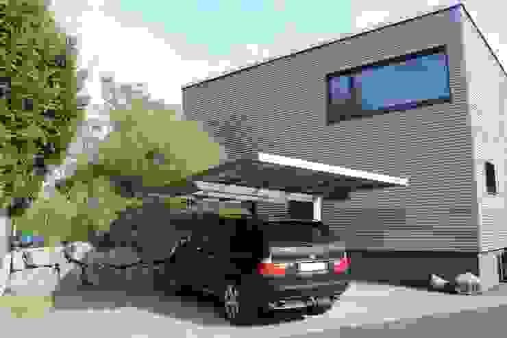 Aluport Monaco Design Carport: modern  von Deutsche Carportfabrik GmbH & Co. KG,Modern