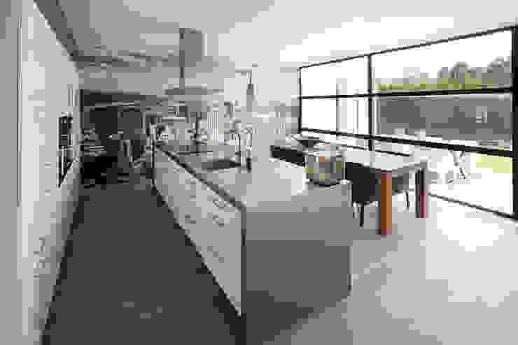woonhuis S Neerharen Moderne keukens van 3d Visie architecten Modern