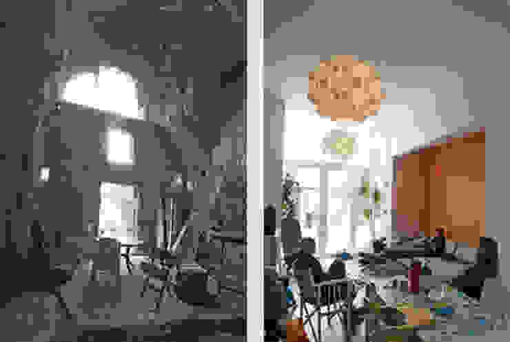Salas de estar modernas por 3d Visie architecten Moderno
