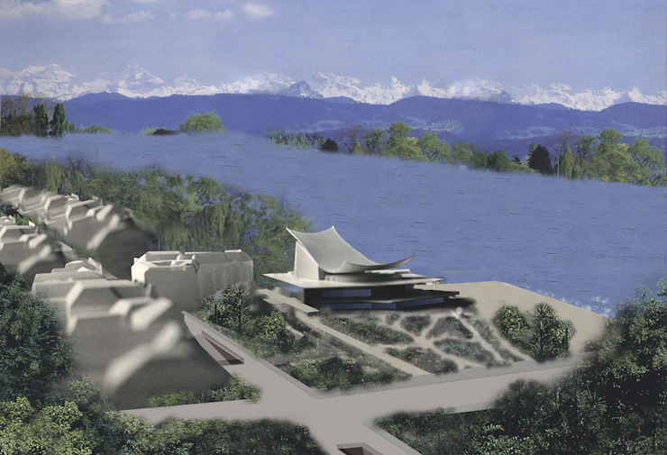 Zurich Opera Modern Kongre Merkezleri Metin Hepgüler Modern