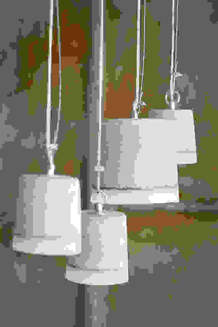 CONCRETE pendant lamps van RENATE VOS product & interior design Industrieel