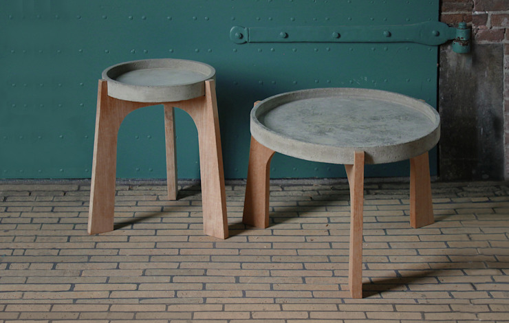 TABLES:  Woonkamer door RENATE VOS product & interior design