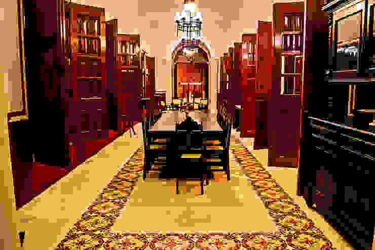 غرفة السفرة تنفيذ Arturo Campos Arquitectos , إستعماري