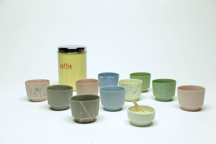 Cups van Ontwerpstudio Inge Simonis Eclectisch