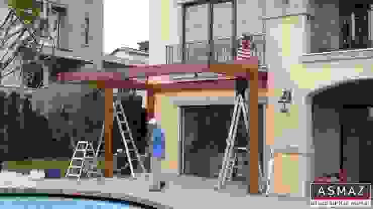 Pergolata Montaj ASMAZ Timber Structures Akdeniz