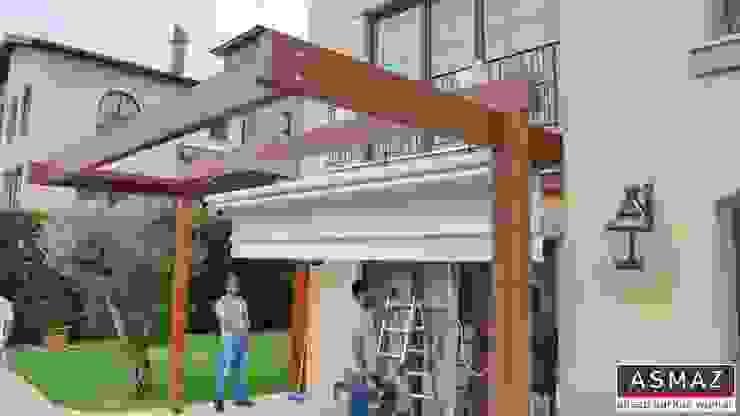 Pergolata Tente Montaj ASMAZ Timber Structures Akdeniz