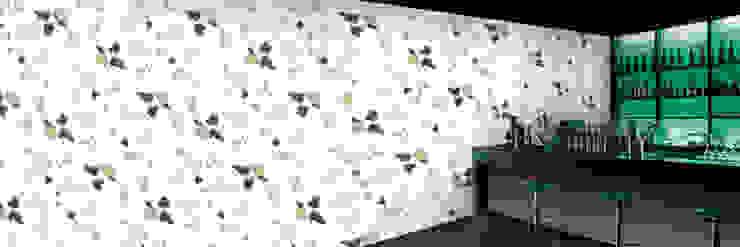 Muurbloem Design Studio_Collection Flowers + Leaves_Dartsgold: modern  door Muurbloem Design Studio, Modern