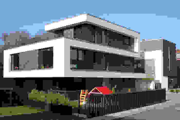 Ansicht Moderne Häuser von Architekturbüro Sahle Modern