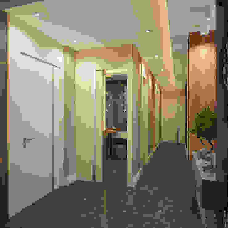 SD HOUSE Modern Koridor, Hol & Merdivenler BWorks Modern